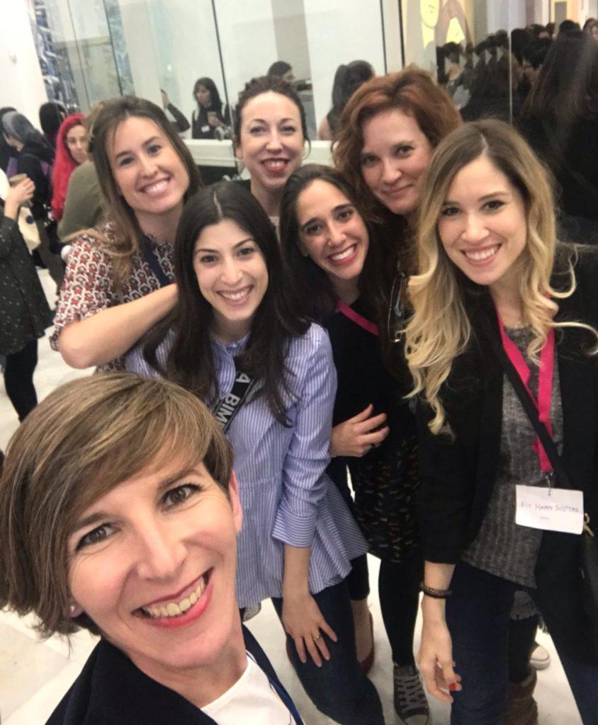 II Evento Womprende Patri, Paula, Laura Jorge, Patricia Navarro, Sara Fit Happy Sisters, Natalia Maminat Juntas Es Mejor