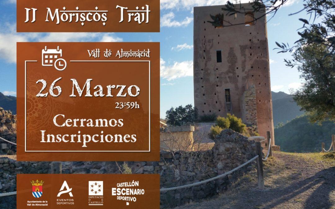 Cartel Trail Moriscos 2019