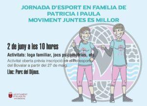 Cartel Quedada Familiar Alaquas Junio 2019 Juntas Es Mejor