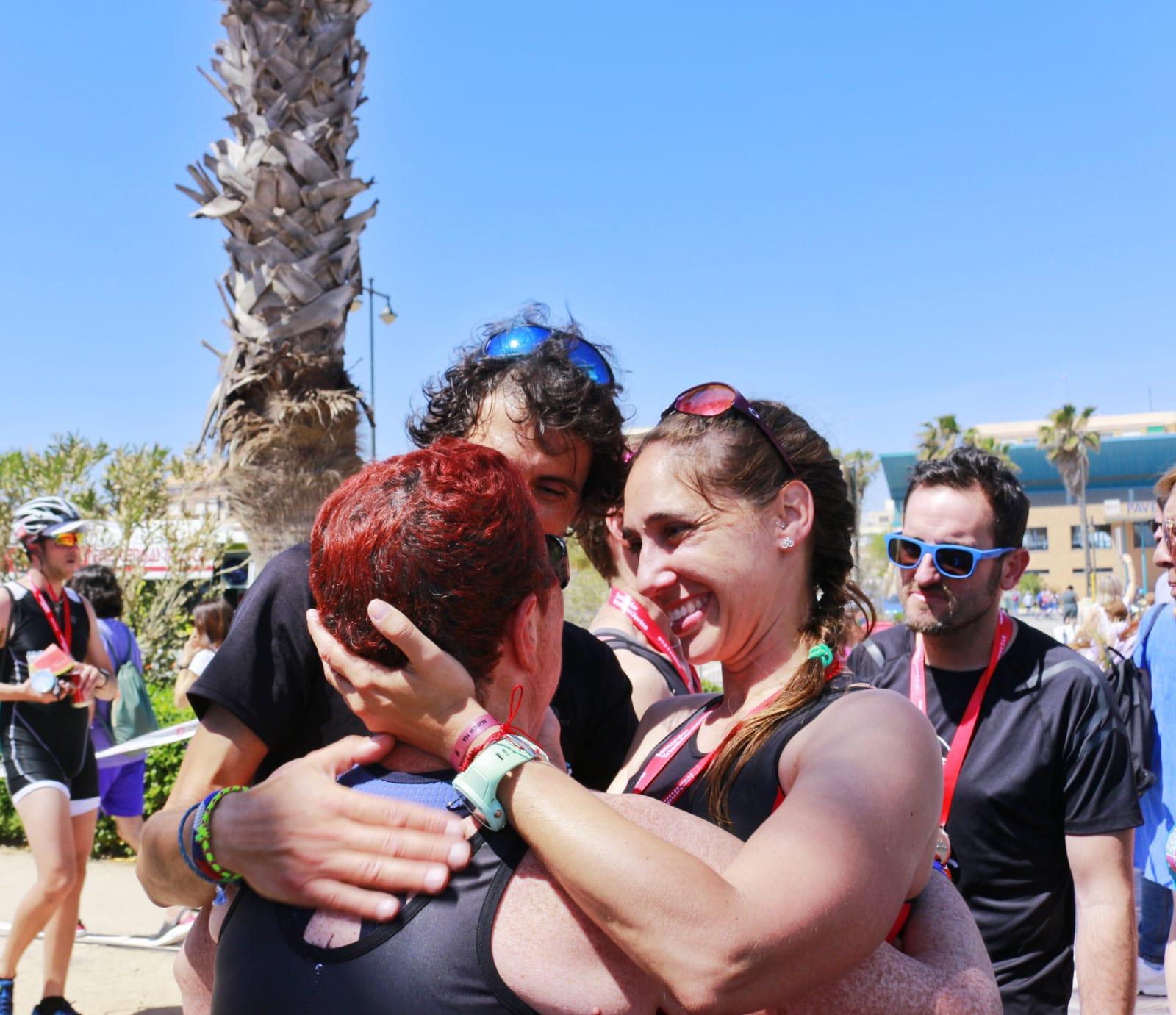 Patri y Fina Triatló Marítim 2019 Juntas Es Mejor