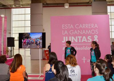 Charla-taller Solan de Cabras Feria Sport Woman