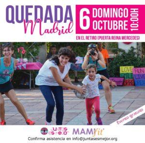 QUEDADA MADRID MAMIFIT JUNTAS ES MEJOR @ Parque del Retiro