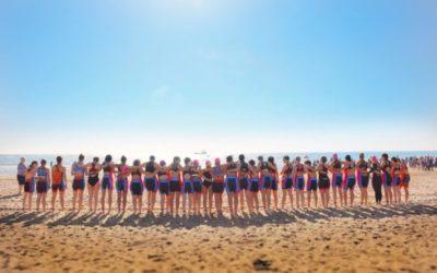 Mujeres triatletas
