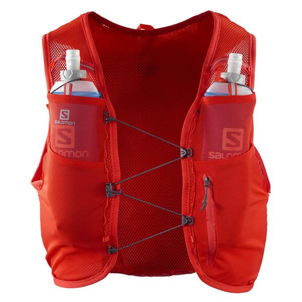 Chaleco de hidratación rojo