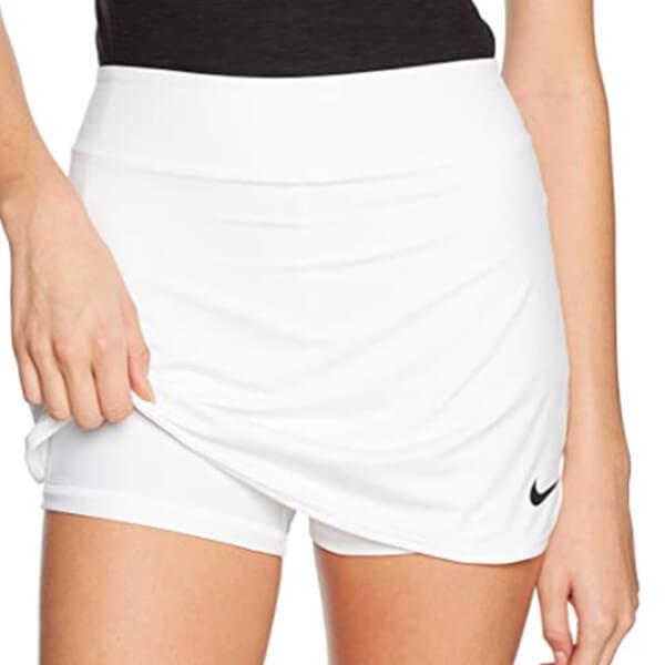 falda Nike tenis blanca pantalón interior